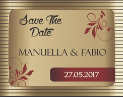 Arte Digital SAVE THE DATE CASAMENTO 2