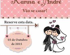 Arte Digital SAVE THE DATE CASAMENTO 3