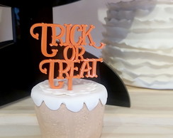 Kit Halloween Trick or Treat - Topo Doce 5unid