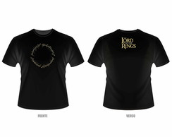 Camiseta Lord of the Rings - O Senhor dos Anéis - One Ring