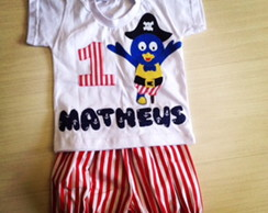 CONJUNTO BACKYARDIGANS PIRATA