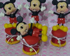 Lembranças,potes,Mickey,Disney,biscuit