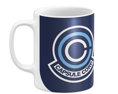 Caneca Capsule Corporation Dragon ball