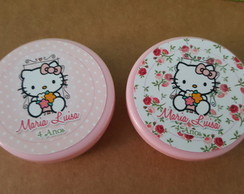 Latinha Hello Kitty Floral