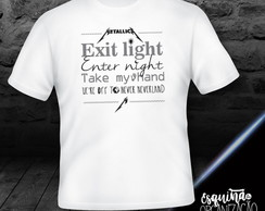 Camiseta Metallica (Enter Sandman)