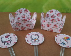 Kit docinho Hello Kitty Floral