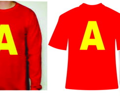 Camisetas e Bone do Alvin