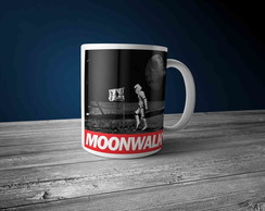 Caneca Porcelana Moonwalk