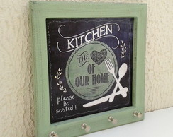 Porta Chaves Kitchen (verde)