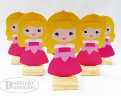 kit 6 mini display TEMA PRINCESA AURORA CUTE
