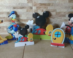 Kit a Casa do Mickey/mdf