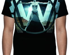 Camiseta Série Westworld - Estampa Total