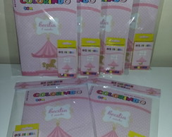 Kit Colorir Revistinha Carrossel Encantado