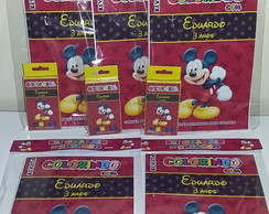 Kit Colorir Revistinha Mikey Mouse
