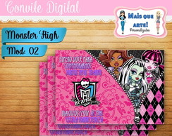 Convite Digital Monster High 02