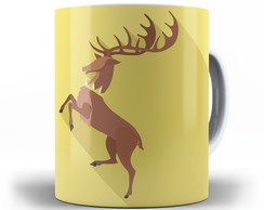 Caneca Game of Thrones - Casa Baratheon