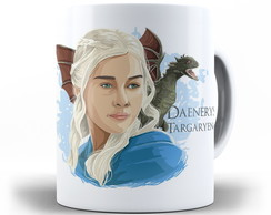 Caneca Game of Thrones - Daenerys Targaryen
