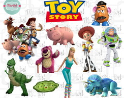 Clipart Toy Story - 167 Elementos