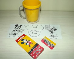 Kit de Colorir na caneca Mickey