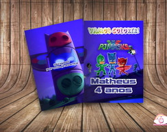 Revista Colorir Personalizado PJ Mask