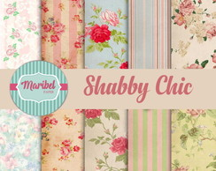 Papel Digital Scrapbook - Shabby Chic #01