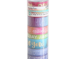 Tubo Medio de Washi Tape- WK0060d