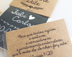 KIT IMÃ SAVE THE DATE - LEMBRETE NOIVADO