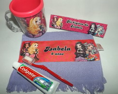 Kit Higiene Ever After High na Caneca