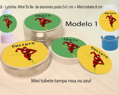 Kit Latinhas e Mini Tubetes-Flash