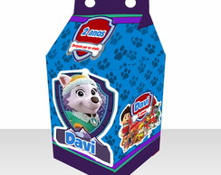 Caixa Milk 3d Everest Patrulha Canina