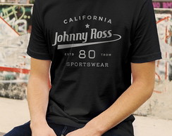 Camiseta Johnny California - Masc Fem BW