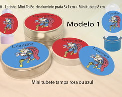 Kit Latinhas e Mini Tubetes-Thor
