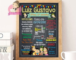 Chalkboard do Chaves