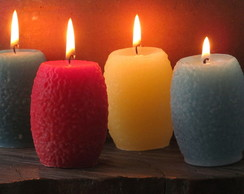 Vela Decorativa - 3 velas