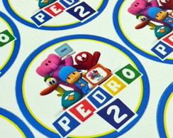 Tags ou Toppers Pocoyo