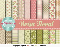 Papel Digital - Brisa Floral