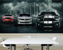 Adesivo Poster Painel Super Carros M06
