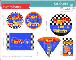 Kit Festa Digital Hot Wheels