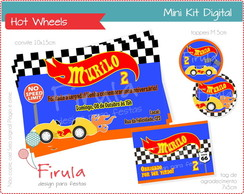 Mini Kit Digital Hot Wheels
