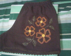 Short bordado adulto GG 81 VENDIDO