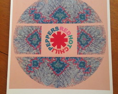 Poster Red Hot Chili Peppers Tamanho A4