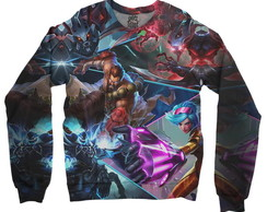 Moletom Raglan Unissex League Of Legends Lol Md02