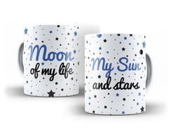 Caneca Game of Thrones - Moon Of My Life - My Sun And Stars