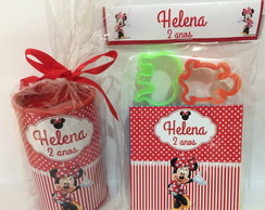 Cofre com massinha personalizada Minnie