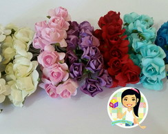 Mini Florzinhas de papel