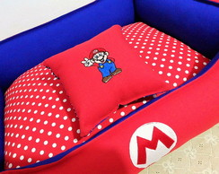 Cama Pet cachorro/gato - Super Mario Bros