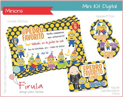 Mini Kit Digital Minions