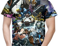 Camiseta Masculina Overwatch Over Watch Md6