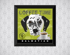 Quadro Coffee Time - Dalmata