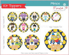 Kit Toppers / Tags Minions